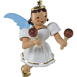 Floating Angel Colored, Maracas  -  6,6cm / 2.6 inch