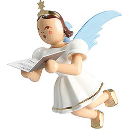 Floating Angel Colored, Singer  -  6,6cm / 2.6 inch