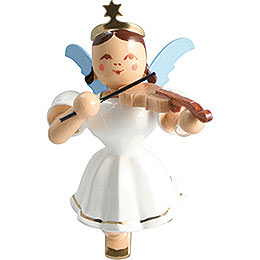Floating Angel Colored, Violin  -  6,6cm / 2.6 inch