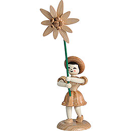 Flower Child Edelweiss, Natural  -  12cm / 4.7 inch