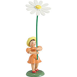 Flower Child Marguerite, Colored  -  12cm / 4.7 inch