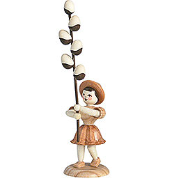 Flower Child Willow Catkin, Natural  -  12cm / 4.7 inch