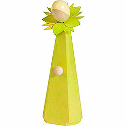 Flower Girl, Light Green  -  11cm / 4.1 inch