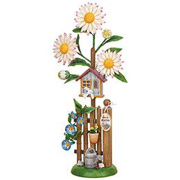 Flower Island Edelweiss Daisy  -  24cm / 9.4 inch