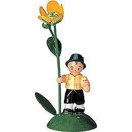 Flowerchild Boy  -  6cm / 2 inch