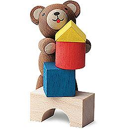 Glücksbärchen Baumeister  -  4cm