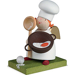Guardian Angel with Cooking Spoon  -  3,5cm / 1.3 inch