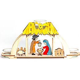Handicraft Set  -  Tea Light Holder  -  Nativity  -  13cm / 5.1 inch
