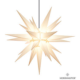 Herrnhuter Moravian Star A13 White Plastic  -  130cm/51 inch