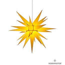 Herrnhuter Moravian Star I7 Yellow Paper  -  70cm / 27.6 inch