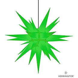 Herrnhuter Stern A13 grün Kunststoff  -  130cm