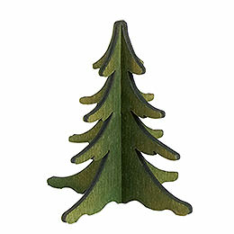 Holz - Steckbaum grün  -  8cm
