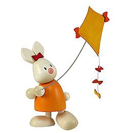 Kaninchen Emma mit Drachen  -  9cm