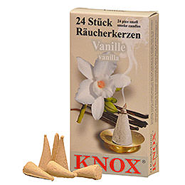 Knox Incense Cones  -  Vanilla