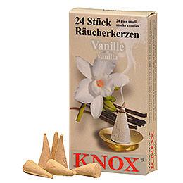 Knox Räucherkerzen  -  Vanille