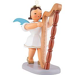 Kurzrockengel farbig mit Harfe  -  20cm