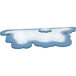 Large Cloud for Snowflake  -  58x28cm / 23x11 inch