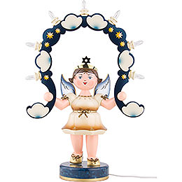 Light Angel with Light Arch  -  53cm / 21 inch