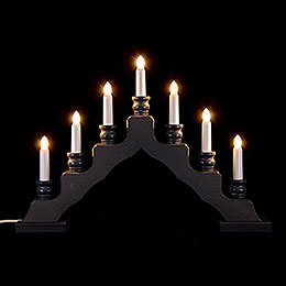 Light Arch  -  Swedish Style  -  Gray  -  LED  -  33cm / 13 inch