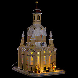 Lighted House Dresden Church, LED  -  51cm / 20.1 inch