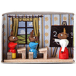 Matchbox  -  Bunny School  -  4cm / 1.6 inch