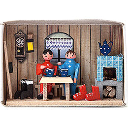 Matchbox  -  Cabin  -  4cm / 1.6 inch