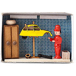 Matchbox  -  Car Repair Shop  -  4cm / 1.6 inch