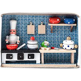 Matchbox  -  Cook  -  4cm / 1.6 inch