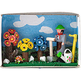 Matchbox  -  Gardener  -  4cm / 1.6 inch