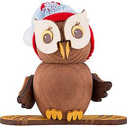 Mini Owl Snowboard  -  7cm / 2.8 inch