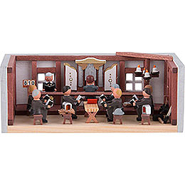 Miniature Room  -  Miners' Prayer Room  -  4cm / 1.6 inch