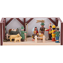 Miniature Room  -  Nativity  -  4cm / 1.6 inch