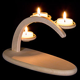 Modern Light Arch  -  Natural without Figurines  -  25x13x10cm / 9.8x5.1x3.9 inch