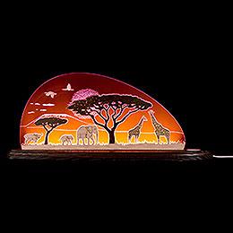 "Motivleuchte ""Safari""  -  47x19,6cm"