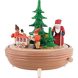 Music Box Christmas Workshop  -  18cm / 7.1 inch