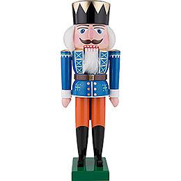 Nussknacker König, blau  -  35cm