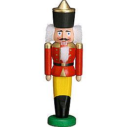 Nussknacker König rot  -  9cm