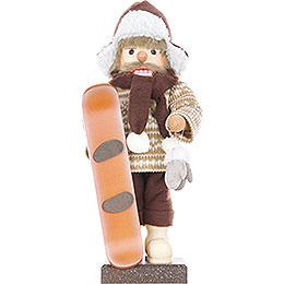 Nussknacker Snowboarder, limitiert  -  45,5cm