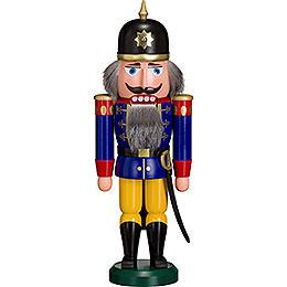 Nussknacker Soldat blau  -  36cm