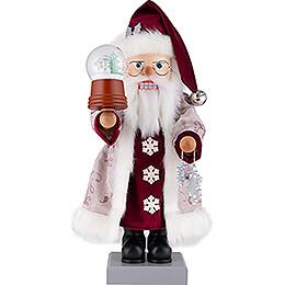 Nussknacker Weihnachtsmann Schneekugel  -  47cm
