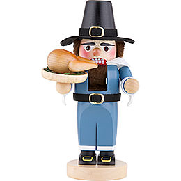 Nutcracker  -  Chubby Pilgrim with Turkey  -  29,5cm / 2 inch