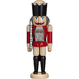 Nutcracker  -  King  -  Ash  -  Red  -  38cm / 15 inch