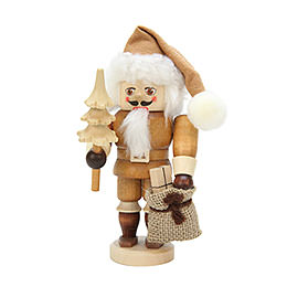 Nutcracker  -  Santa Claus Natural Colors  -  16,0cm / 6 inch