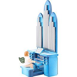 Orgel mit Engel und Spielwerk  -  6,5cm