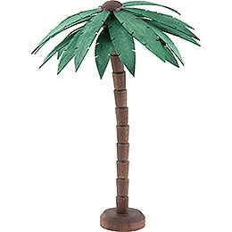 Palm Tree, Glazed  -  16cm / 6.3 inch