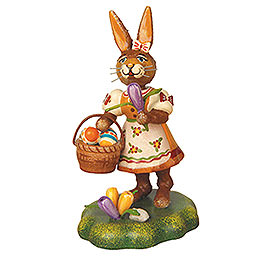 Rabbit Mother with Crocus  -  9cm / 3,5 inch