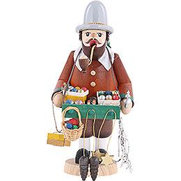 Räuchermännchen Baumschmuckhändler  -  18cm