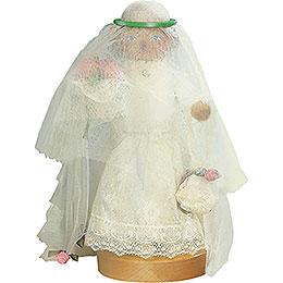 Räuchermännchen Braut  -  25cm