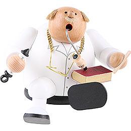 Räuchermännchen Doktor  -  Kantenhocker  -  14cm
