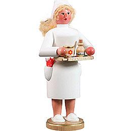 Räuchermännchen Krankenschwester  -  21cm